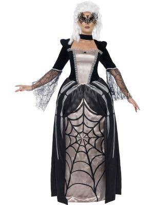 Spider Baroness Women's Baroque Halloween Costume Main Image