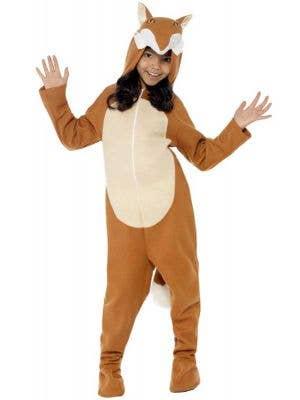 Fox Kids Unisex Animal Dress Up Onesie Costume