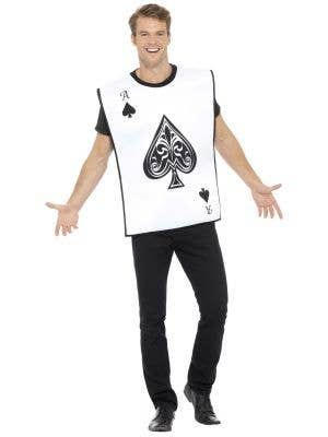 Alice in Wonderland Playing Card Guard Costume Image 1