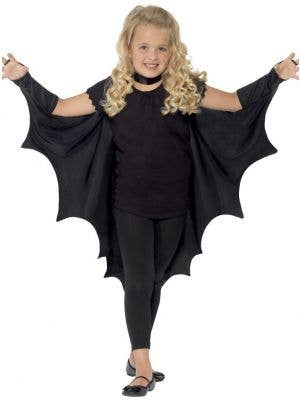 Vampire Bat Wings Kids Cape Costume Accessory