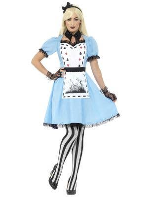 Tea Party Alice Costume for Women Front Image