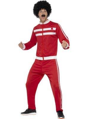 Scouser Men's Liverpool Chav Tracksuit Costume