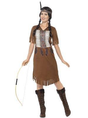 Native Indian Warrior Princess Women's Costume