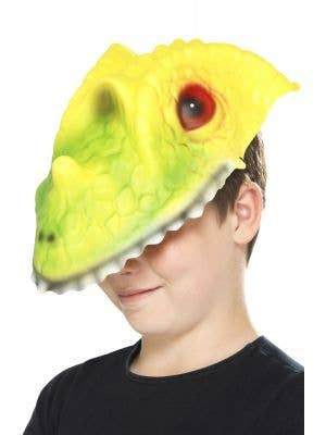 Snappy Crocodile Kids Costume Accessory Mask