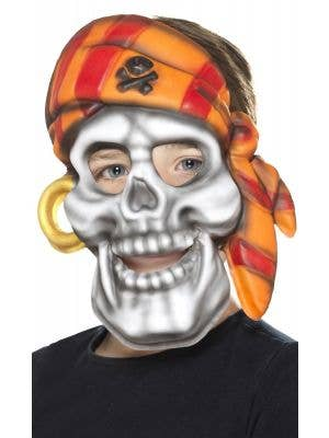 Pirate Skull Kid's Book Week Novelty Face Mask Accessory