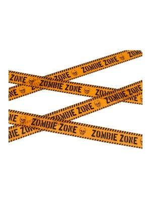 Zombie Infection Zone Red Caution Tape Halloween Haunted House Decoration