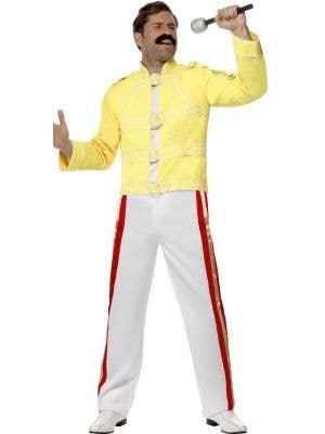 Freddie Mercury Queen Men's Costume Suit - Front