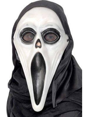 Glow in the Dark Halloween Hooded Scream Mask