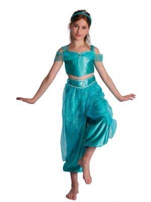 Persian Princess Girls Jasmine Disney Costume