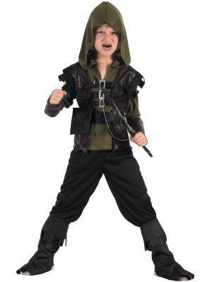 Robin Hood Hunter Costume for Boys