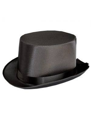 Satin Black Adults Top Hat