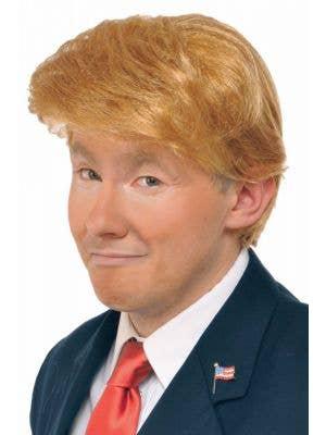 Men's Funny Donald Trump Costume Wig Accessory