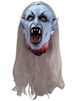 Gothic Vampire Decapitated Head Halloween Decoration
