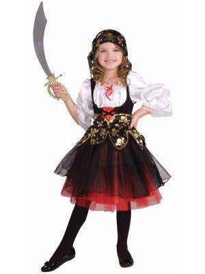 Lil Pirate's Treasure Girls Costume