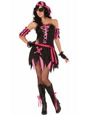 Pirate Pixie Women's Sexy Fancy Dress Costume