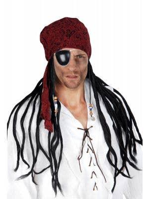 Mens Rasta Wig /& Beanie Hat Dreadlocks Jamaican Fancy Dress Marley by Smiffys Nw