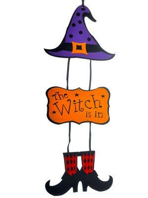 Child Friendly The Witch Is In Decoration