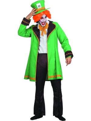 Wonderland Mad Hatter Men's Fancy Dress Costume