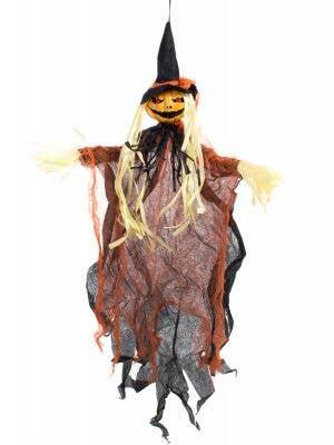Hanging Pumpkin Scarecrow Decoration