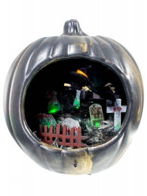 Pumpkin Graveyard Scene Animated Decoration