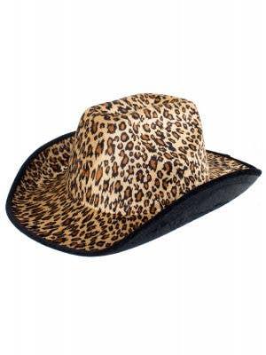 Leopard Print Cowboy Hat