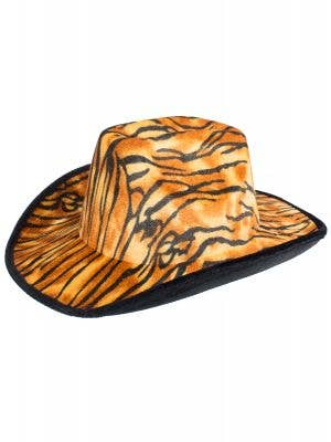 Tiger Print Cowboy Hat