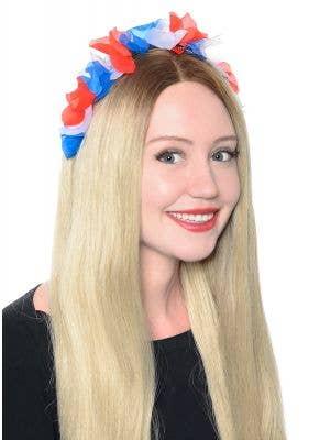 Australia Day Flowers on Headband Costume Accessory