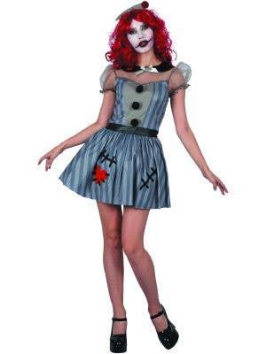 Voodoo Doll Women's Halloween Horror Costume