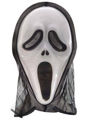 Scream Ghost Face Mask with Hood