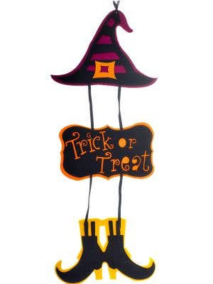 Trick or Treat Witch Hanging Decoration