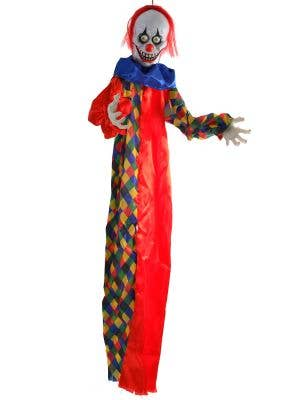 Animated Scary Clown Light Up Halloween Decorations - Main Image