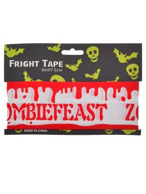 Halloween Blood Drip Zombiefeast Fright Tape