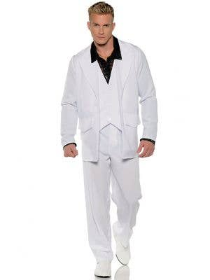 Hustle Men's Saturday Night Fever Disco Costume