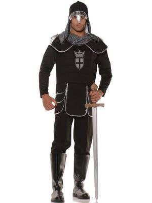 Noble Medieval Knight Men's Fancy Dress Costume