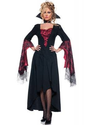 The Countess Women's Vampire Halloween Costume - Image 1