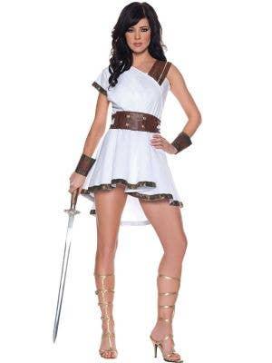 Womens Roman Olympia Sexy Goddess Costume - Main Image