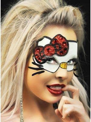 Stick on Mask - Hello Kitty  Body Art