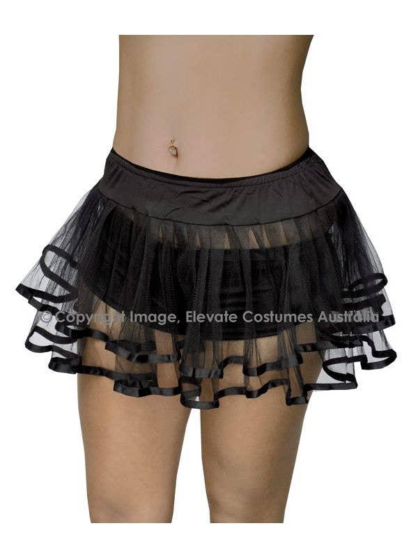 Black Costume Petticoat for Women