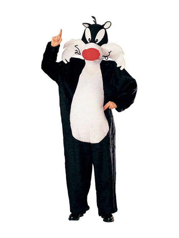 Officially Licensed Looney Tunes Sylvester The Cat Costume for Adults