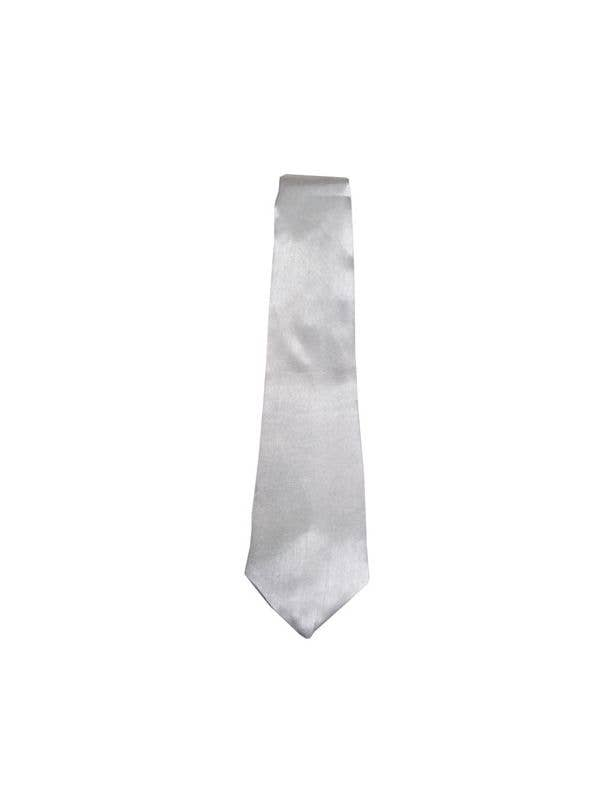 White 1920's Gangster Costume Tie