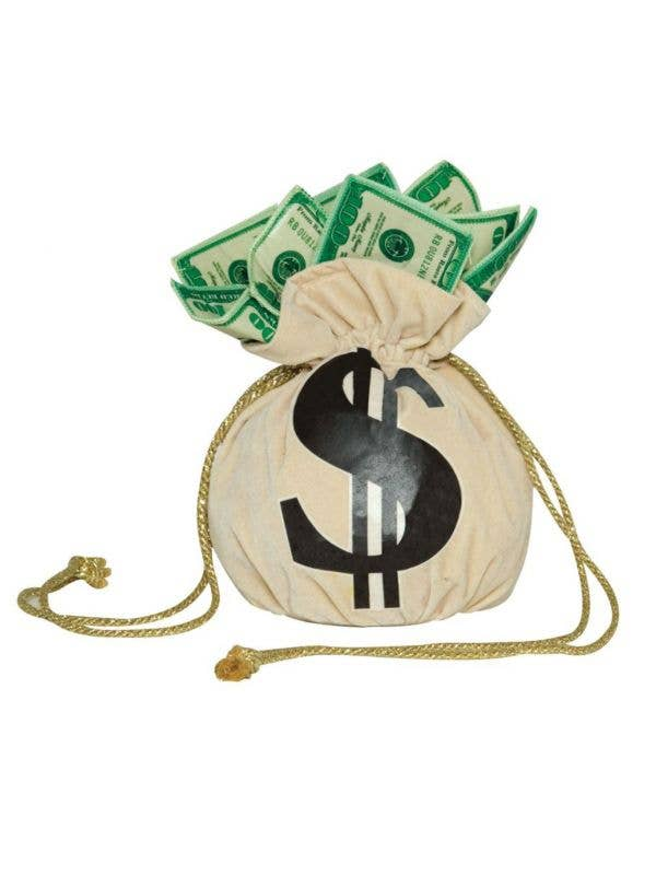Novelty Money Bags Gangster Costume Handbag