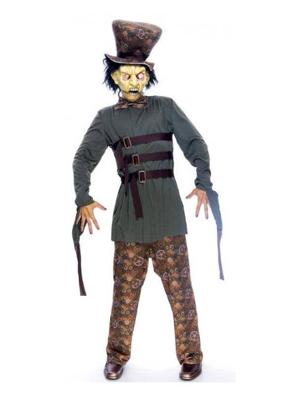 Deluxe Clockwork Mad Hatter Men's Wonderland Halloween Costume