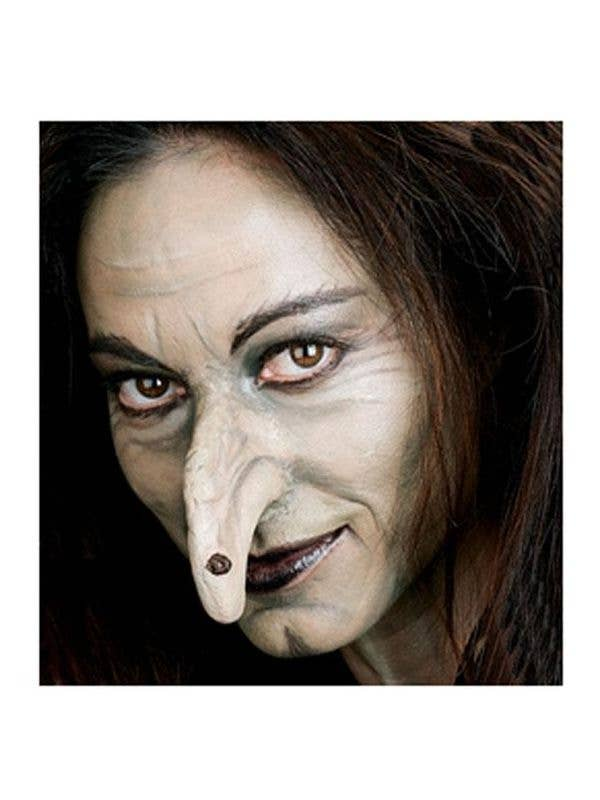 Theatrical Quality Witch Nose Prosthetic with Mole