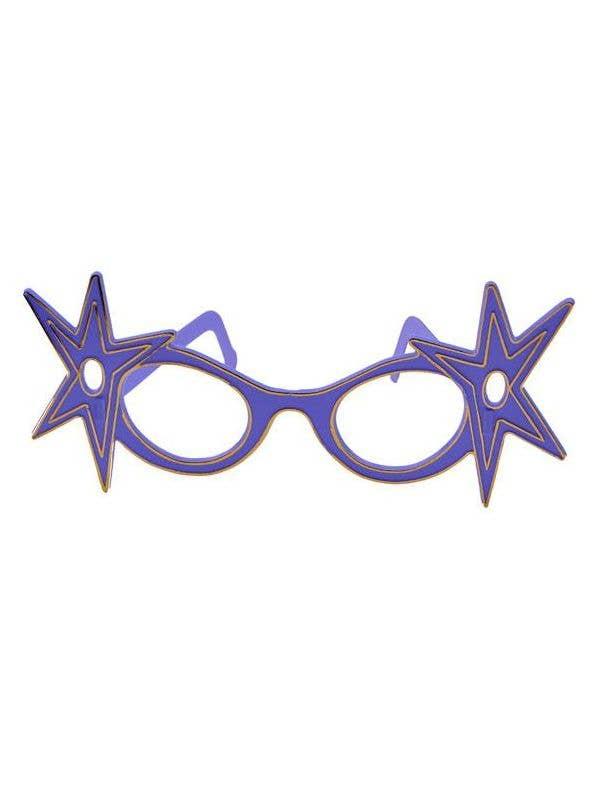 Blue Frame Dame Edna Costume Glasses