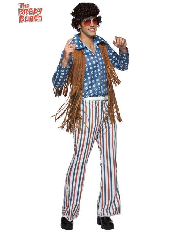 Officially Licensed 70s The Brady Bunch Greg Costume for Men