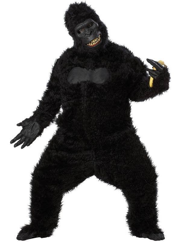 Adult's Deluxe Goin Ape Gorilla Costume - Main Image
