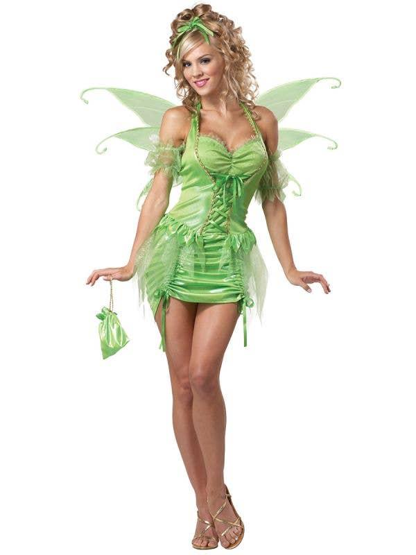 Womens Sexy Tinkerbell Fairy Costume - Main Image