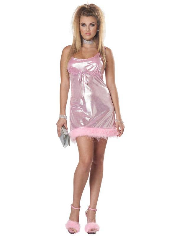 Pink Shimmer Michele High School Reunion Women's Costume - Main Image