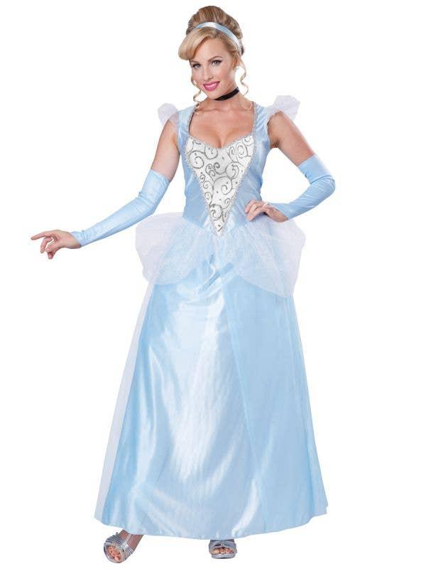 Womens Fairtale Classic Cinderella Disney Princess Costume - Main Image