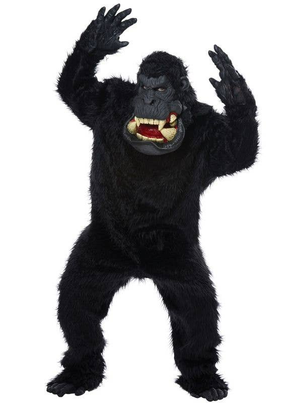 California Costumes Goin Bananas Deluxe Halloween Gorilla Costume Main Image